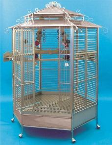 Kings papegojbur 508 rostfritt stål