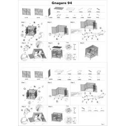 Smådjursburen Gnagare 94