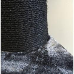 Klösträdet Maine Coon Lilla Lo mörkgrå-svart
